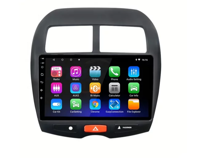 "9"" android 10, bilstereo Mitsubishi Asx (2013 -- 2015)"
