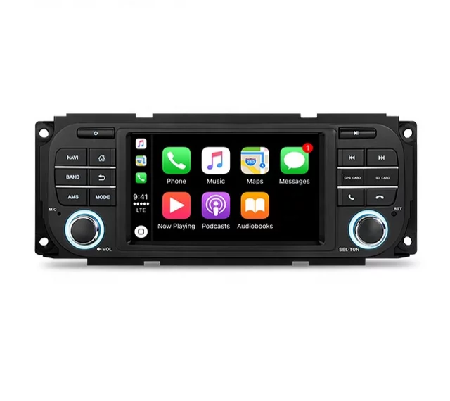 """4.3""""Android 10, bilstereo  Chrysler town& County,"""