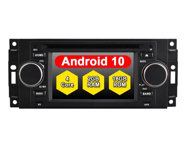 """6.2"""" android 10, bilstereo Chrysler 300c"""