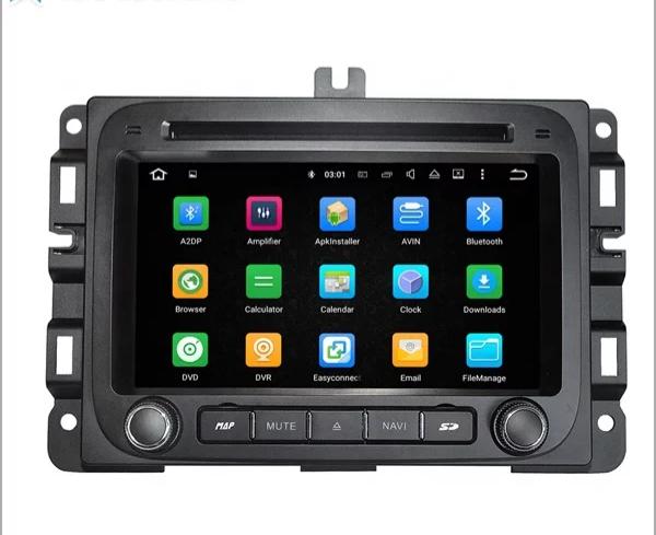 """7"""" android 10, bilstereo Dodge Ram 1500, år 2014---2017"""