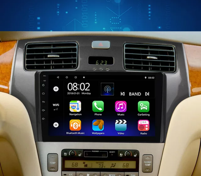 """8""""android 10,bilstereo Lexus ES 250,ES300,ES330 (2001--2006)"""