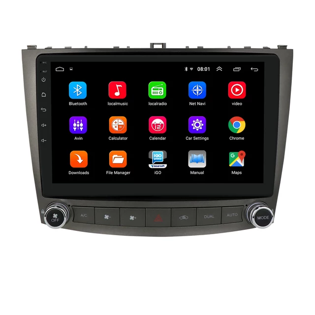 """10"""" android 10, bilstereo Lexus is(2005---2012)"""