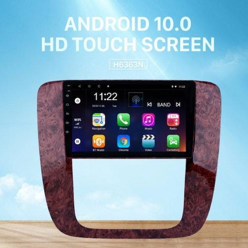 """9""""android10, bilstereo GMC acadia,Yukon,Tahoe (2007--2012)"""