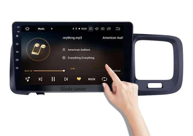 """10,1"""" android 10, bilstereo Volvo S60 (2011----- 2019)"""