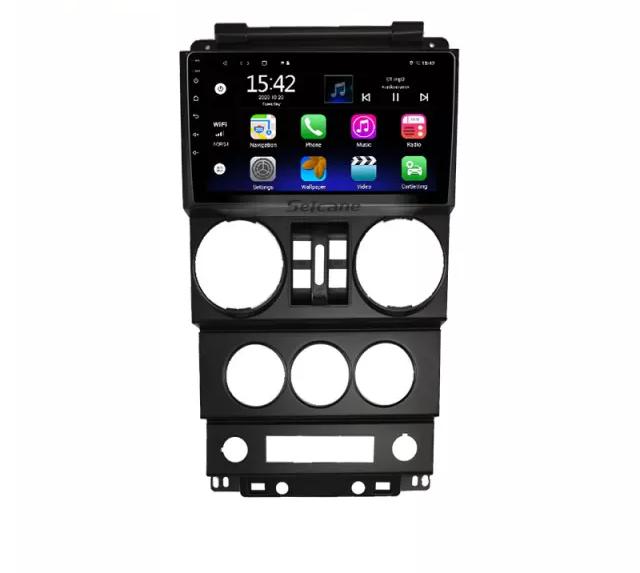"""9"""" android 10, bilstereo  Jeep Wrangler ( 2008--2010) gps,wifi,32gb, backkamera"""