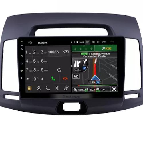 "9""android 10, bilstereo Hyundai Elantra (2007--2011)GPS, wifi, 32GB,Grå"