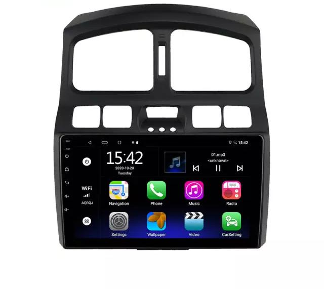 "9""android  10,bilstereo Hyundai  santafe  (2006--2015) wifi,gps,32GB"