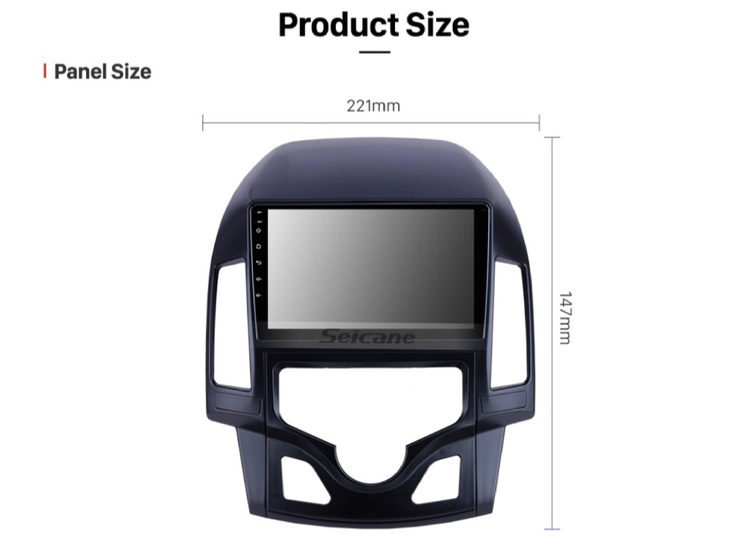 """9""""android  10,bilstereo Hyundai  i30 auto A/C(2008--2011) gps,wifi  32GB"""
