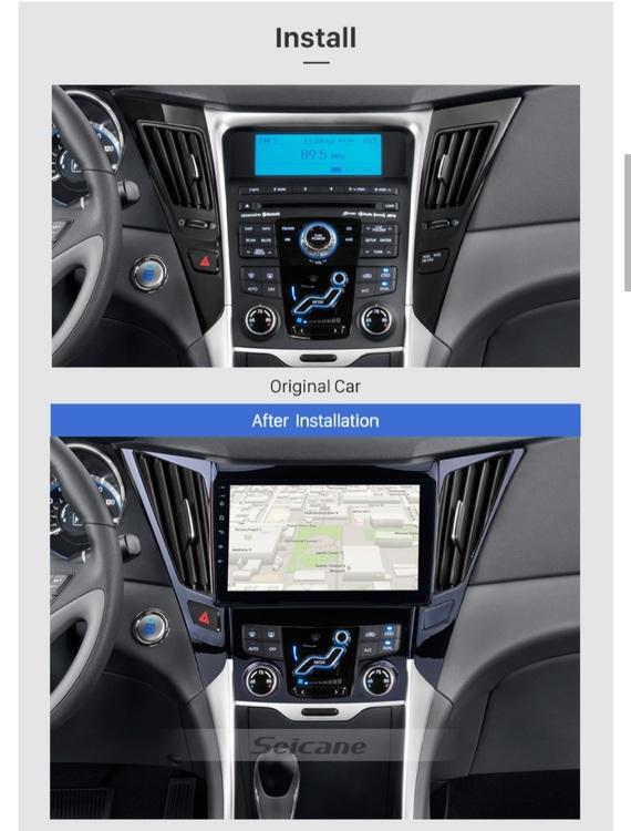 """9""""android  10,bilstereo Hyundai i40,i45 (2011---2015) gps  wifi, 32GB"""