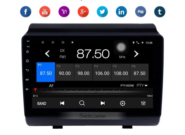 "9""android 10,bilstereo Hyundai ix35 (2018---2019) wifi, gps, 32GB"