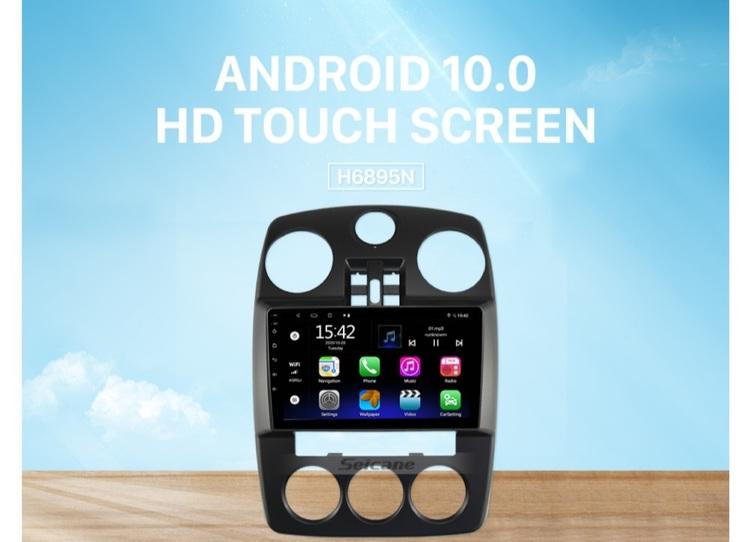"""9""""android 10,bilstereo  PT Cruiser år 2010, 32gb wifi"""