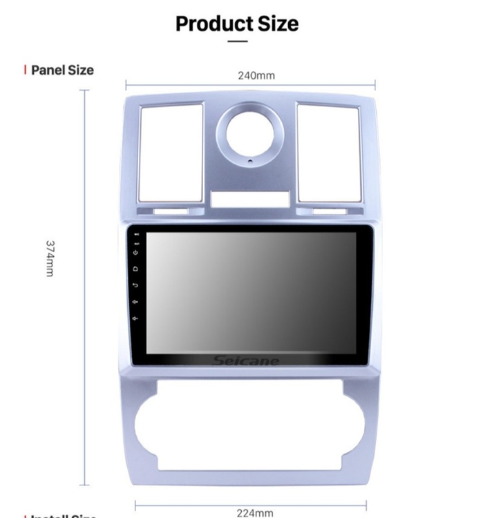 """9""""android 10, bilstereo Chrysler aspen  300C (2004---2011),Wifi,gps  32gb"""