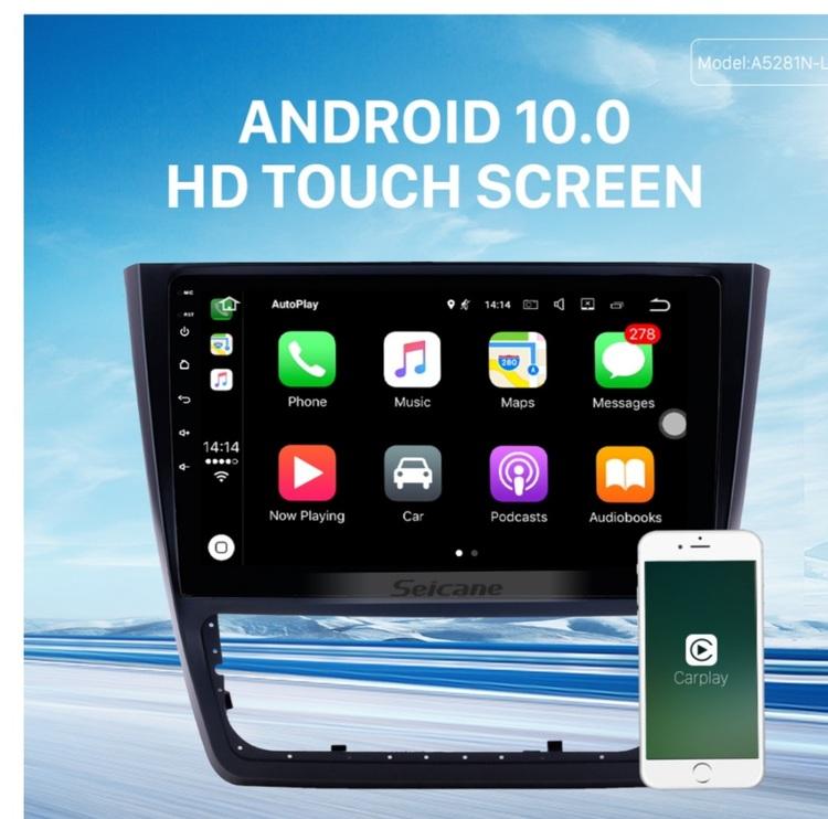 "10,1"" android  10, Skoda  Yeti (2014---2018) gps, wifi, 32GB"