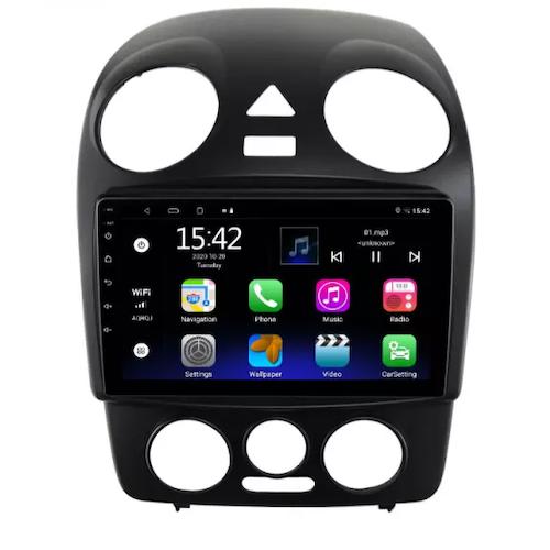 "9""android  10,bilstereo vw beetle år (2005---2010) gps, wifi, 32GB"