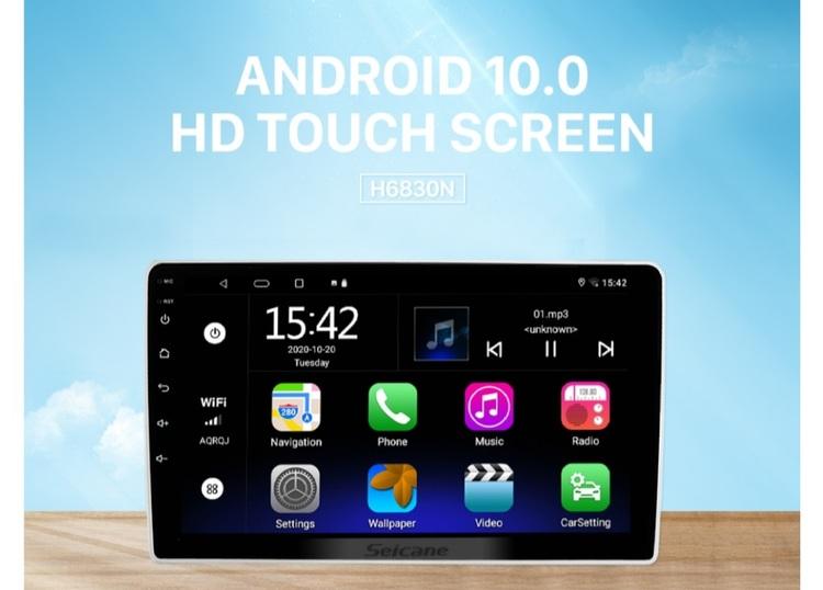 "9""android  10,bilstereo vw  Passat (2004---2010), gps, wifi, 32GB"