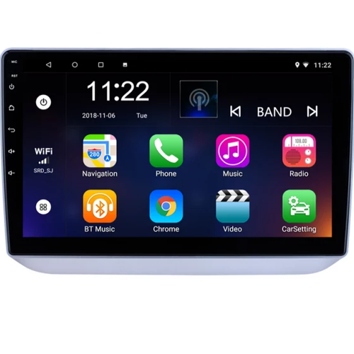"10,1"" android 10,bilstereo  Skoda Fabia(2008--- 2014),gps, wifi, 32GB"