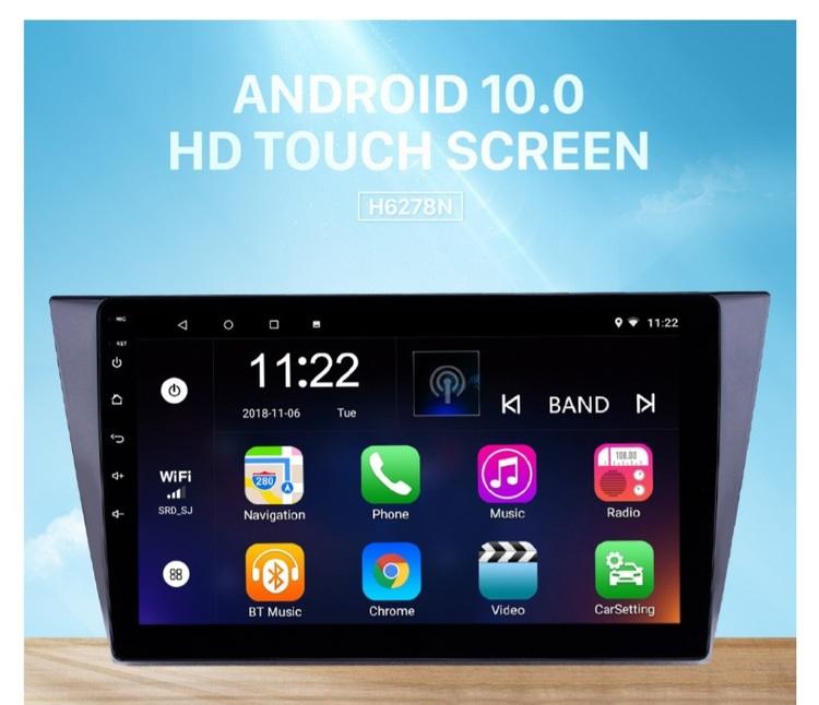 "10,1""android 10, bilstereo vw Bora(2016--2018) gps, wifi, 32GB"