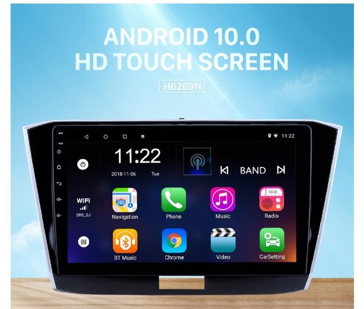 "10,1"" android 10,bilstereo vw Passat (2016--- 2018) gps, wifi, 32GB"