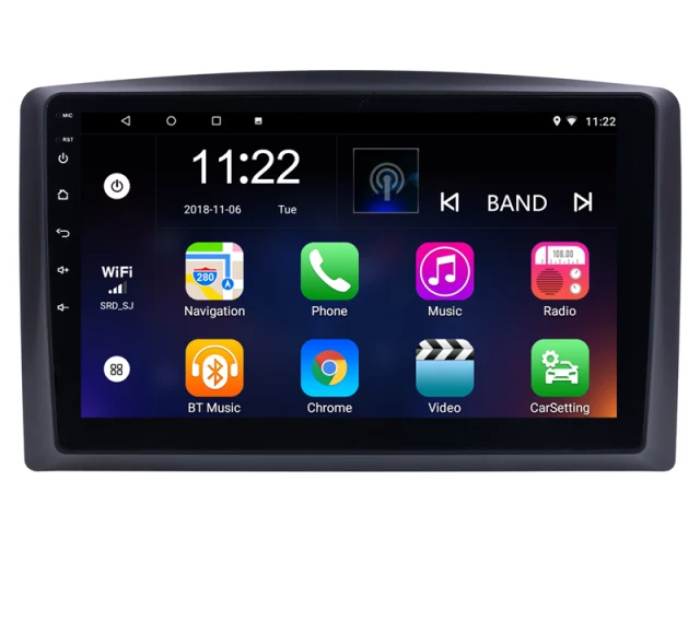 """10,1"""" android 10,bilstereo Mercedes Benz, vito (2014---2018) gps, wifi, 32GB, Bluetooth"""
