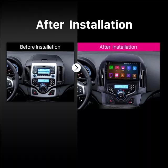 "9""android  10,bilstereo Hyundai i30 automatiskt  A/C(2008--2011)"