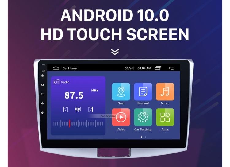 "10,1"" android 10,bilstereo vw Magotan, golf6,b7, bora(2012--2014) gps, wifi, 32GB, blåtand"