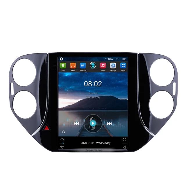 "9,7 "" android 10, bilstereo vw tiguan (2010---2016)gps, wifi, 32GB, blåtand"