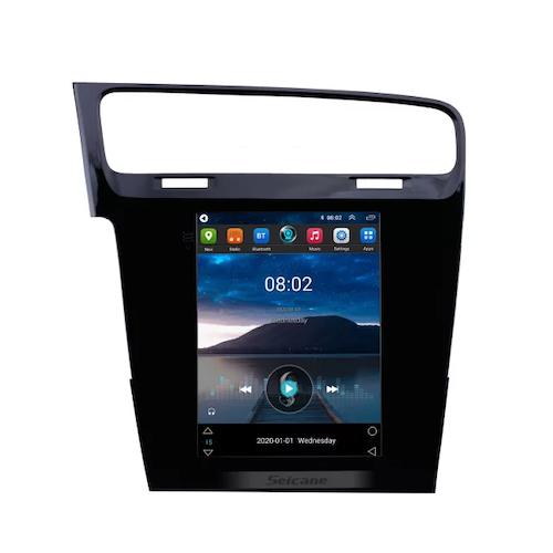 "9.7"" android 10, bilstereo vw Golf 7(2014---2018) gps, wifi, 32GB, blåtand"