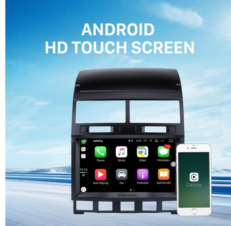 "9 ""android 10,bilstereo vw Touareg (2004----2010) gps, wifi, 32GB, blåtand"