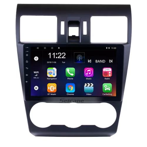 "9""android 10,bilstereo Subaru forester (2013---2016) gps, wifi, 32GB, blåtand"