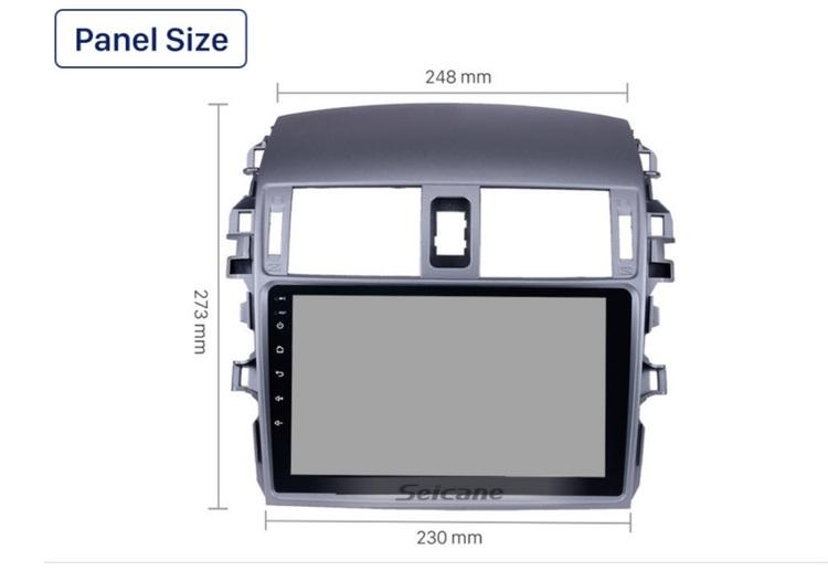 "9""android 10,bilstereo  Toyota Corolla ( 2006---2012)"