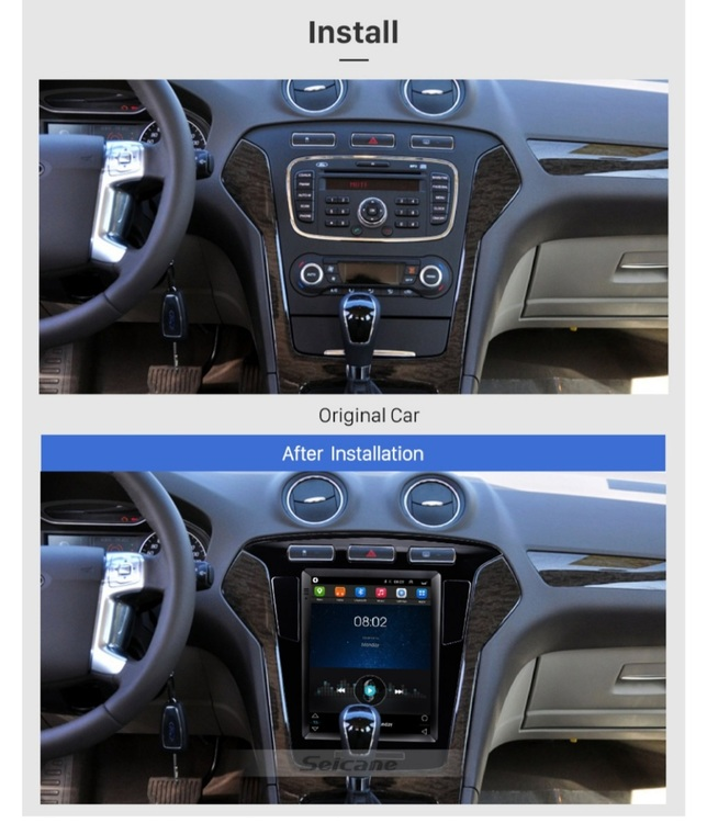"""9.7"""" android 10,bilstereo Ford Mondeo  mk4(2011---2013)"""