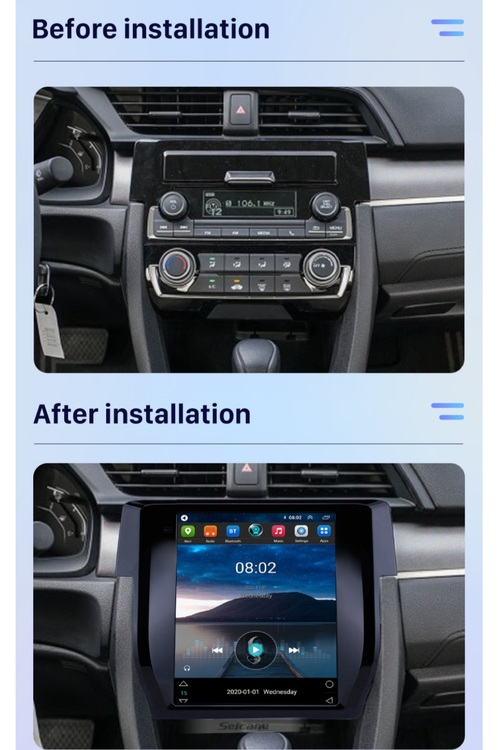 """12,1"""" android 10,bilstereo Ford Mustang, F150(2008---2012) gps, wifi, 32GB  ,blåtand"""