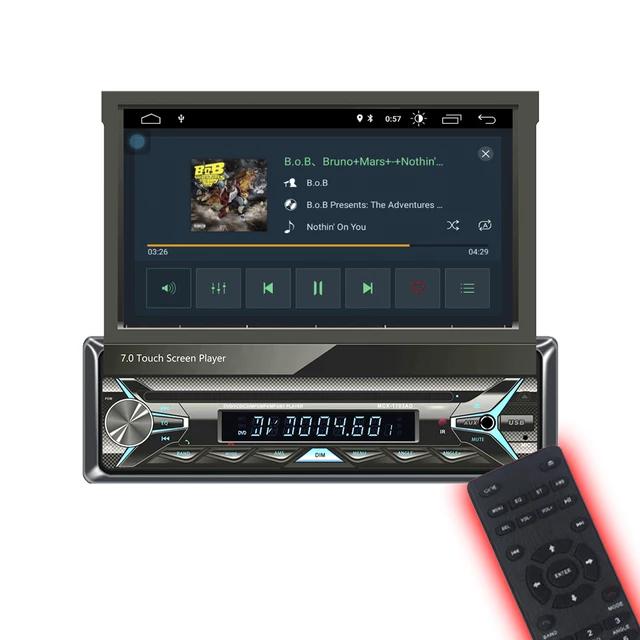 "7"" android 10,universal  bilstereo,  gps, wifi, blåtand"