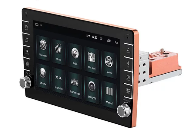 "9""android 10, universal bilstereo GPS, wifi, 16GB,blåtand,"
