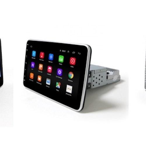 "10,1 "" android 10,universal  bilstereo  gps,wifi ,blåtand, 16gb"