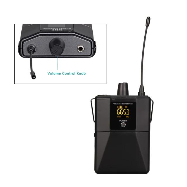 2*50 kanal PLL UHF Headset mikrofonsystem