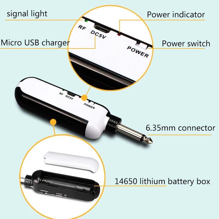2*50 Kanal UHF  trådlöst  Karaoke mikrofonsystem
