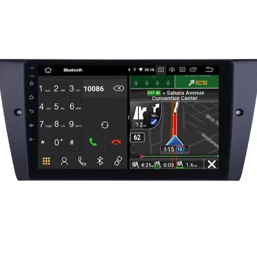 "10,1 "" android 10, bilstereo  BMW 3 SERIES (2005--2012) GPS,WIFI, 32GB  CARPLAY,BLÅTAND"