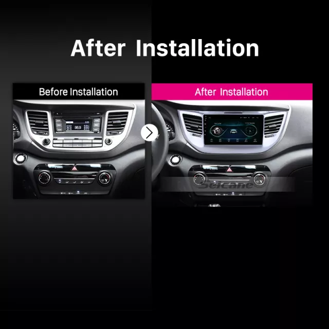 "9""android  10, Bilstereo Hyundai Tucson ( 2014---2018) gps,wifi, 32GB, blåtand  carplay"