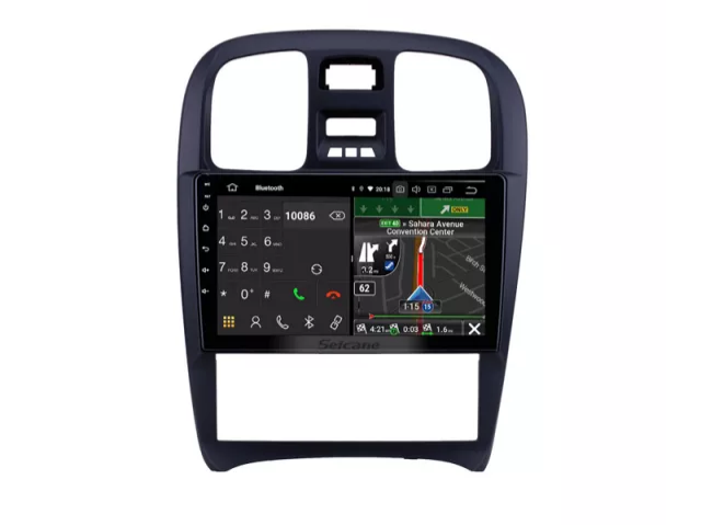 "9""android 10,bilstereo Hyundai sonata (2003----2009) gps,32GB, blåtand  wifi,carplay"