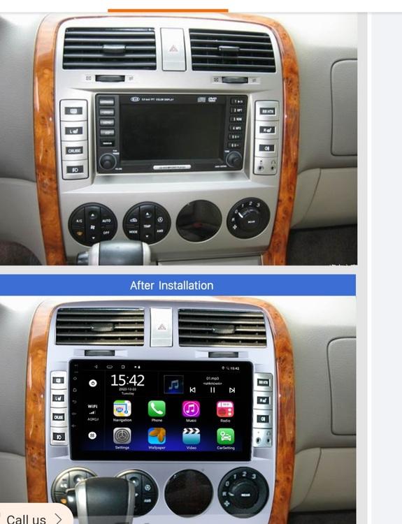 "9""android 10,bilstereo  Kia carnival (2002--2006) GPS ,wifi, 32GB  carplay"