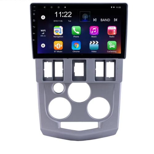 "9""android 10,bilstereo Renault LOGAN L90 (2004--2008) GPS, wifi  ,32GB, blåtand  carplay"