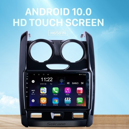 """9""""android 10,bilstereo  Renault Duster (2015--2020)"""
