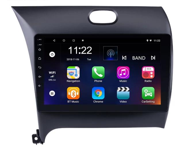 "9""android 10,bilstereo, KIA CERATO FORTE (2013---2016) GPS ,wifi, 32GB  carplay  blåtand"