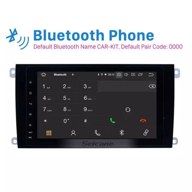 "8""android10,bilstereo Porsche cayenne  (2004--' 2010) GPS, 32GB, blåtand carplay, wifi"