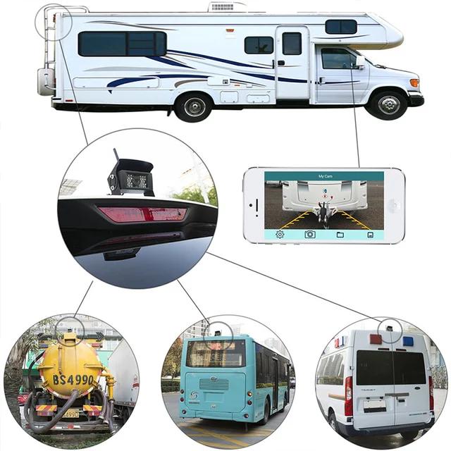 30 meter Wifi backkamera till  truck,buss, minibuss,djurtransportbil,husbil