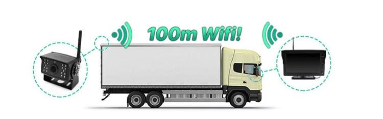 4 kanaler wifi kamera system Truck,lastbil 128gb dvr