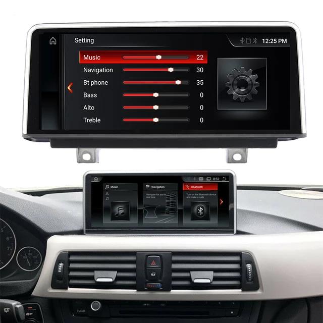 """10 ,25 """" android 10, bilstereo  BMW BMW F30 F31 F32 F33 F34 F36 (2013-2017) Gps,wifi,32gb,blåtand"""