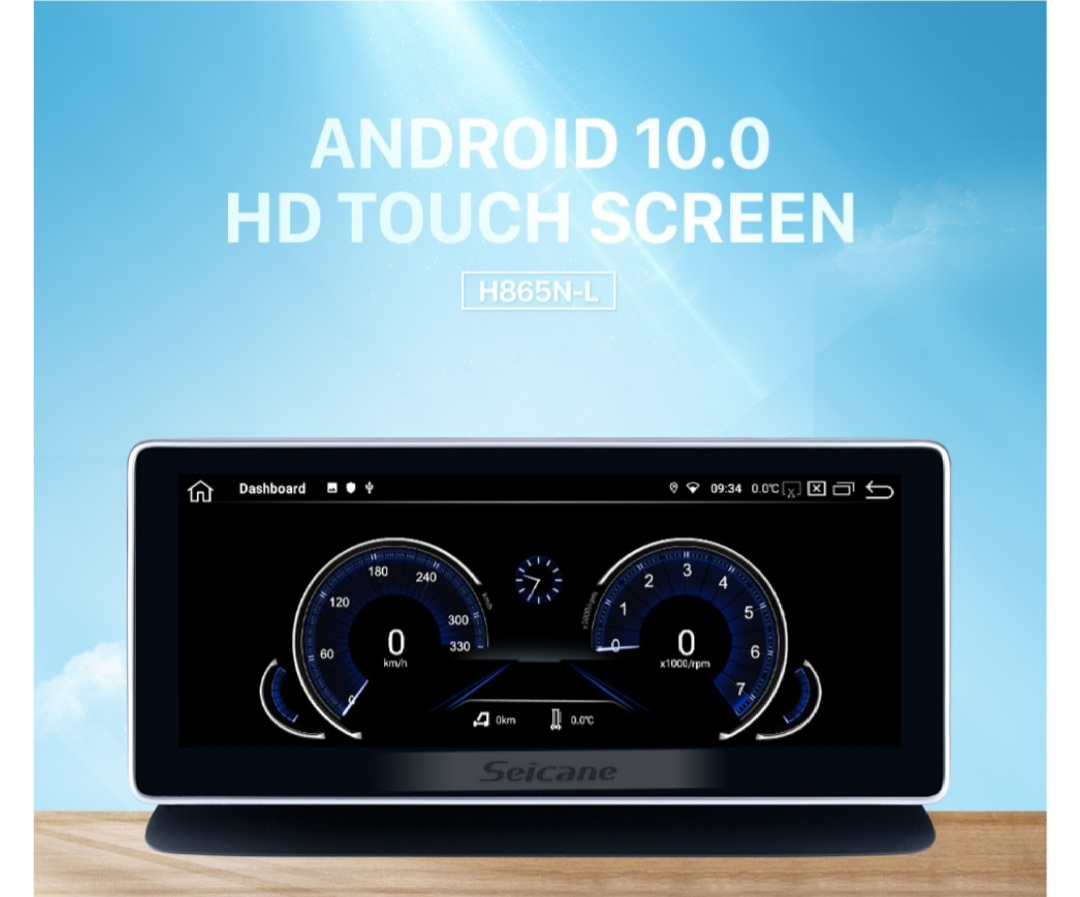 """10,25"""" android 10 bilstereo Mercedes Benz VÖS W218 ( 2010--2013)"""