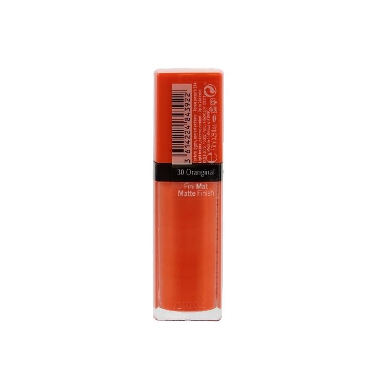 Bourjois Rouge Edition Velvet Lipstick Oranginal 030